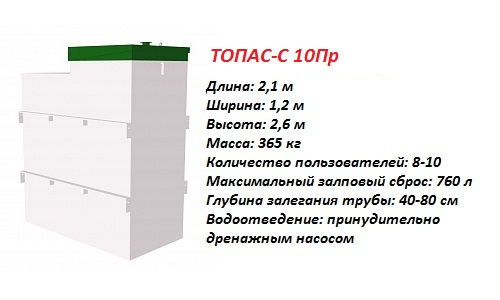 ТОПАС-С 10 ПР
