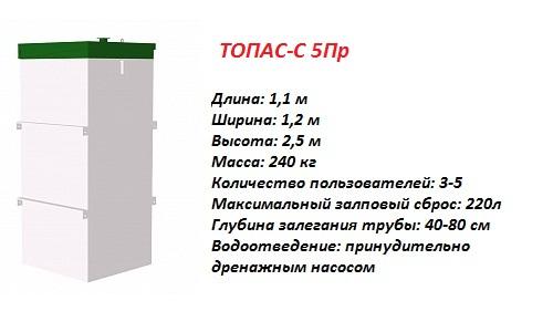ТОПАС-С 5 ПР