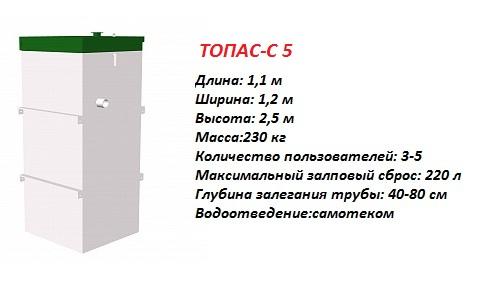 ТОПАС-С 5