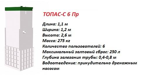 ТОПАС-С 6 ПР