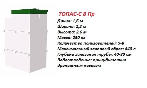 ТОПАС-С 8 ПР