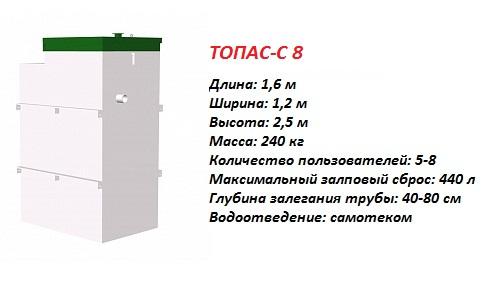 ТОПАС-С 8