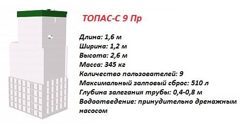 ТОПАС-С 9 ПР