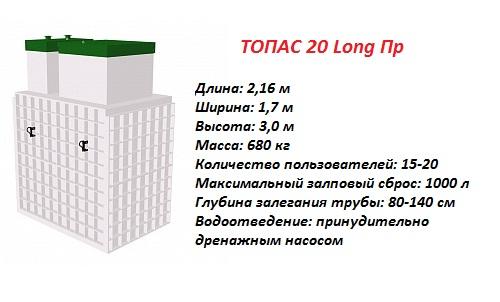 ТОПАС 20 ЛОНГ ПР