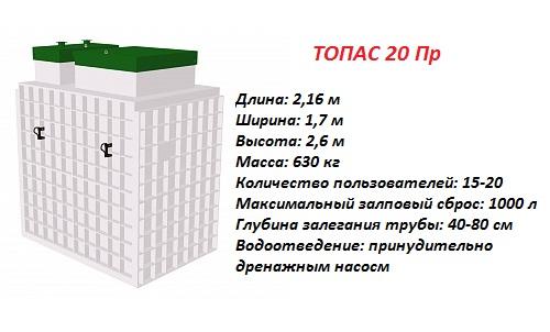 ТОПАС 20 ПР