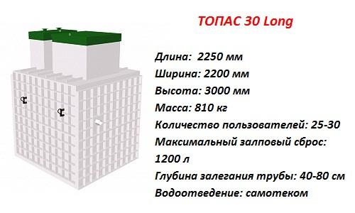 ТОПАС 30 ЛОНГ